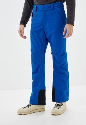 Брюки горнолыжные Billabong. Цвет: синий