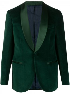 Однотонный пиджак-смокинг MP Massimo Piombo