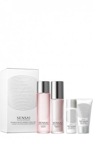 Дорожный набор (Лосьон 2, Эмульсия Очищающее масло, Кремовое мыло) Sensai. Цвет: бесцветный