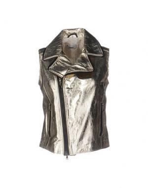 Куртка GQUADRO. Цвет: золотистый