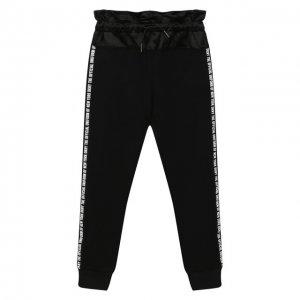Джоггеры DKNY. Цвет: чёрный