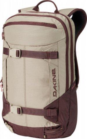 Рюкзак женский MISSION PRO, 18 л Dakine. Цвет: бежевый