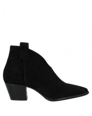 Полусапоги и высокие ботинки ANNA F.. Цвет: черный