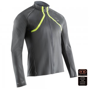 Ветровка by X-BIONIC RainSphere Mens Running Jacket PUMA. Цвет: серый