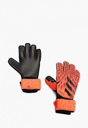 Перчатки вратарские adidas PRED GL MTC. Цвет: коралловый