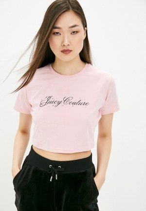Топ Juicy Couture. Цвет: розовый