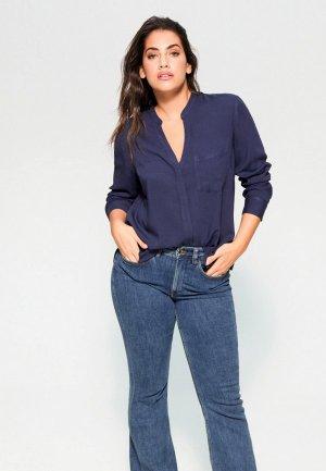 Блуза Violeta by Mango - RUTH6. Цвет: синий