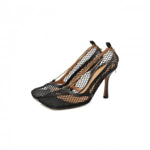 Текстильные туфли Stretch Bottega Veneta. Цвет: чёрный