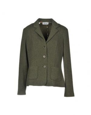 Пиджак AND. Цвет: зеленый-милитари