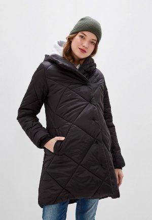 Куртка утепленная BuduMamoy. Цвет: черный