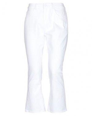 Джинсовые брюки-капри KATE SPADE New York. Цвет: белый