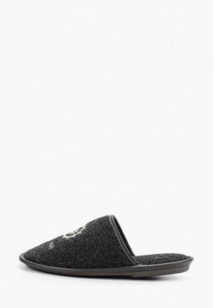 Тапочки MCM. Цвет: черный