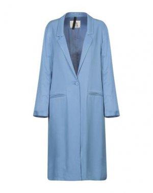 Легкое пальто ATTIC AND BARN. Цвет: пастельно-синий