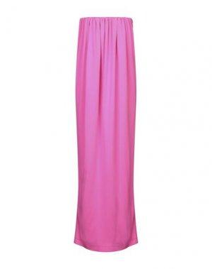 Длинное платье CALVIN KLEIN 205W39NYC. Цвет: фуксия