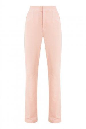 Розовые брюки из хлопка Alexander Wang.t. Цвет: розовый