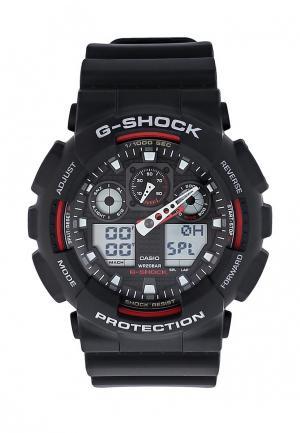Часы Casio G-SHOCK GA-100-1A4. Цвет: черный