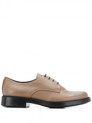 Oxford shoes Pollini. Цвет: нейтральные цвета