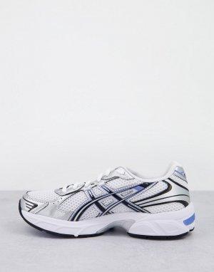 Бело-синие кроссовки Gel-1130-Белый Asics