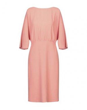 Платье до колена ANGEL SCHLESSER. Цвет: пастельно-розовый