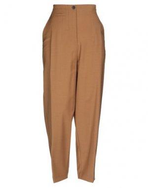 Повседневные брюки ATTIC AND BARN. Цвет: верблюжий