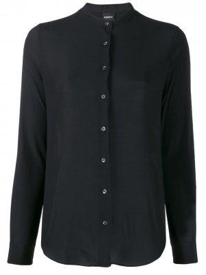 Блузка с круглым вырезом Aspesi. Цвет: черный