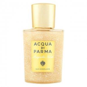 Мерцающее масло для тела Magnolia Nobile Acqua di Parma. Цвет: бесцветный