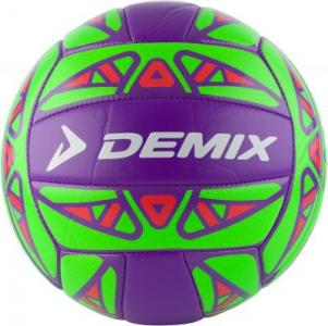 Мяч для пляжного волейбола Demix. Цвет: фиолетовый