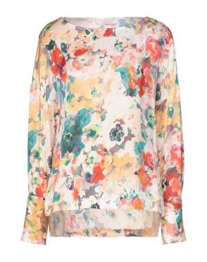 Блузка LIVIANA CONTI. Цвет: абрикосовый