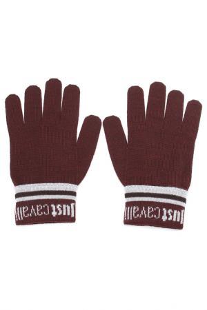 Перчатки Just Cavalli. Цвет: 472 бордовый