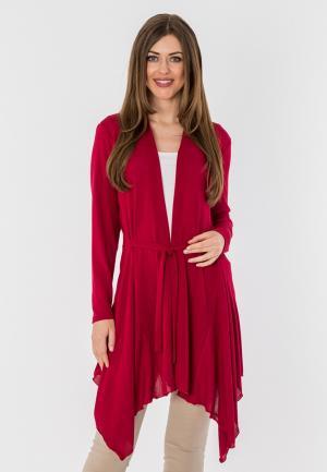 Кардиган S&A Style. Цвет: бордовый