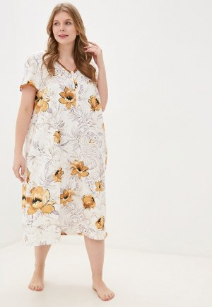 Платье домашнее Hays. Цвет: разноцветный