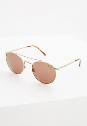Очки солнцезащитные Polo Ralph Lauren PH3114 933473. Цвет: коричневый