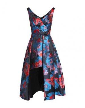 Платье длиной 3/4 BLACK HALO EVE by LAUREL BERMAN. Цвет: синий
