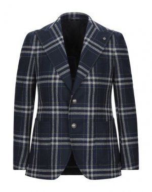 Пиджак PINO LERARIO. Цвет: темно-синий