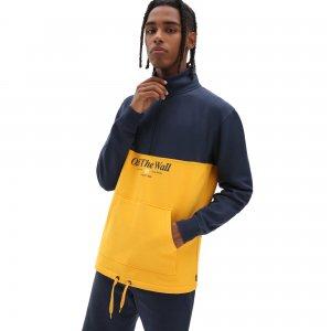 Пуловер Frequency Quarter Zip VANS. Цвет: желтый_синий