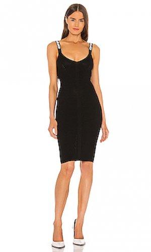 Мини платье industrial OFF-WHITE. Цвет: черный