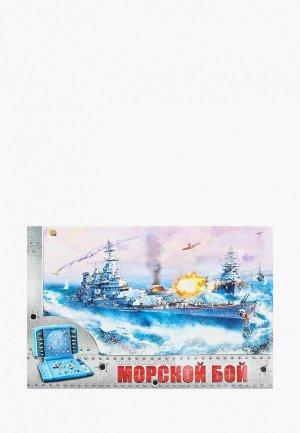 Игра настольная Рыжий Кот Морской бой. Цвет: разноцветный