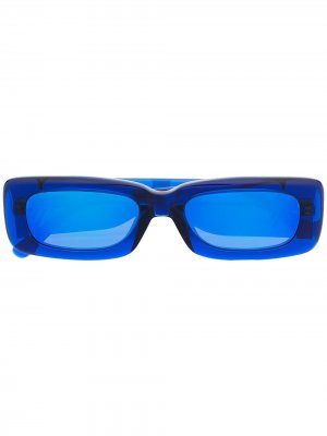 Солнцезащитные очки Attico Marfa Linda Farrow. Цвет: синий