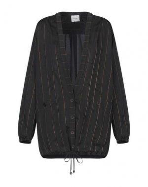 Легкое пальто ALYSI. Цвет: черный