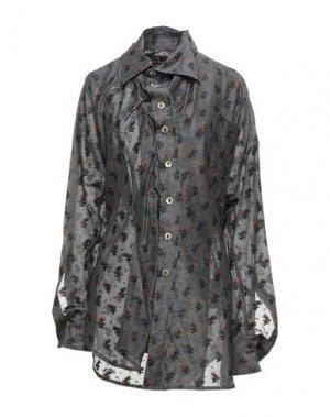 Pубашка VIVIENNE WESTWOOD ANGLOMANIA. Цвет: серый