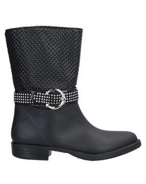 Полусапоги и высокие ботинки LALÙ. Цвет: черный