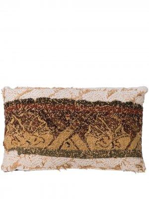 Подушка 18th Century Tapestry By Walid. Цвет: фиолетовый