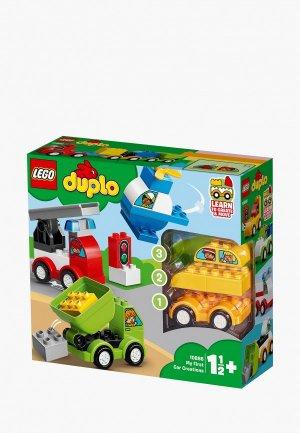 Конструктор LEGO DUPLO 10886 Мои первые машинки. Цвет: разноцветный