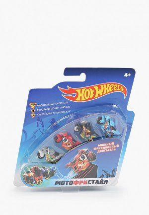 Набор игровой 1Toy Hot Wheels Мотофристайл. Цвет: разноцветный
