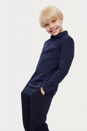 Верхняя сорочка для мальчика Finn-Flare. Цвет: темно-синий