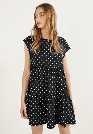 Платье Bershka. Цвет: черный