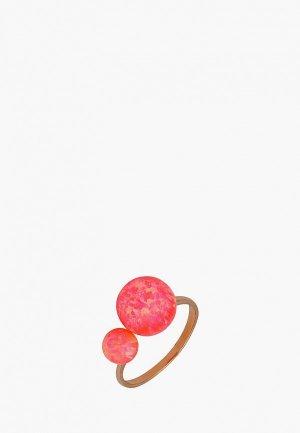 Кольцо Наше Золото. Цвет: разноцветный