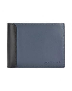 Бумажник MOLESKINE. Цвет: грифельно-синий
