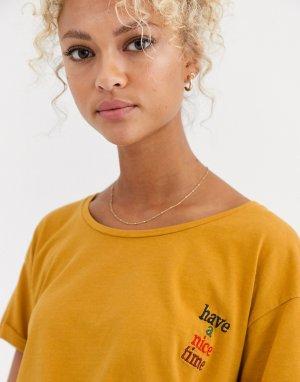 Футболка -Оранжевый Blend She