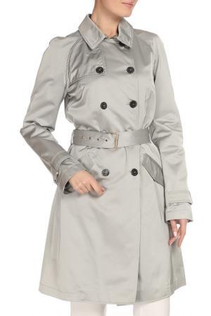 Плащ CNC Costume National C'N'C. Цвет: серый